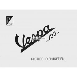 Notice d'emploi et d'entretien ACMA 125 de 1951