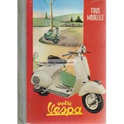 Manuel Technique Vespa Acma 1955, Acma 150 GL, TriVespa Acma 125