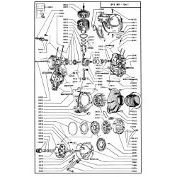 Catalogue de pieces Piaggio Ape MP