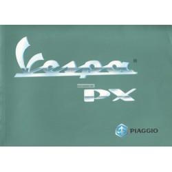 Notice d'emploi et d'entretien Vespa PX 125 mod. VNX2T, PX 200 mod. VSX1T, Frein à Disques