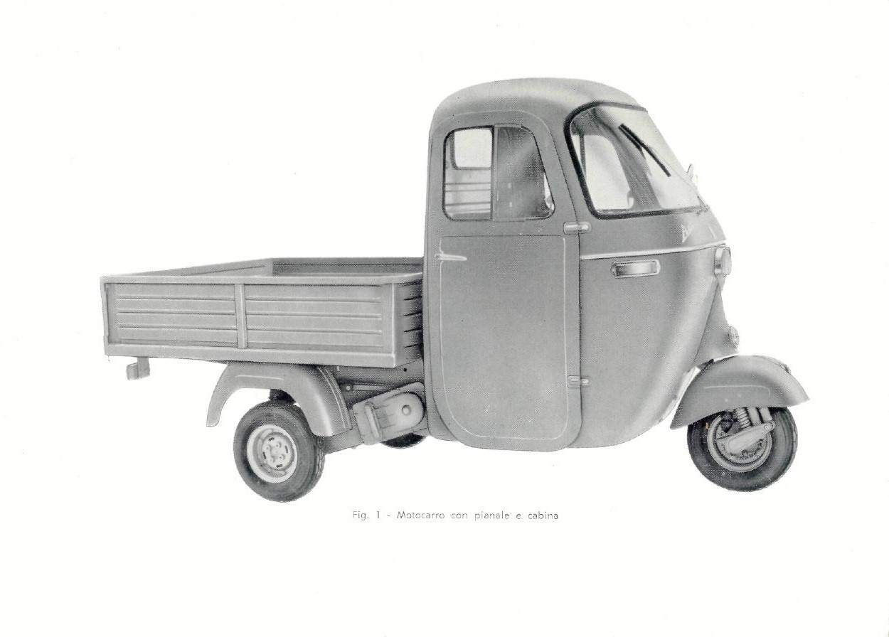 Piaggio Ape D 175 cc AD1T