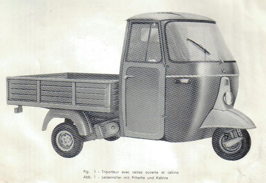Piaggio Ape D 175 cc AD2T