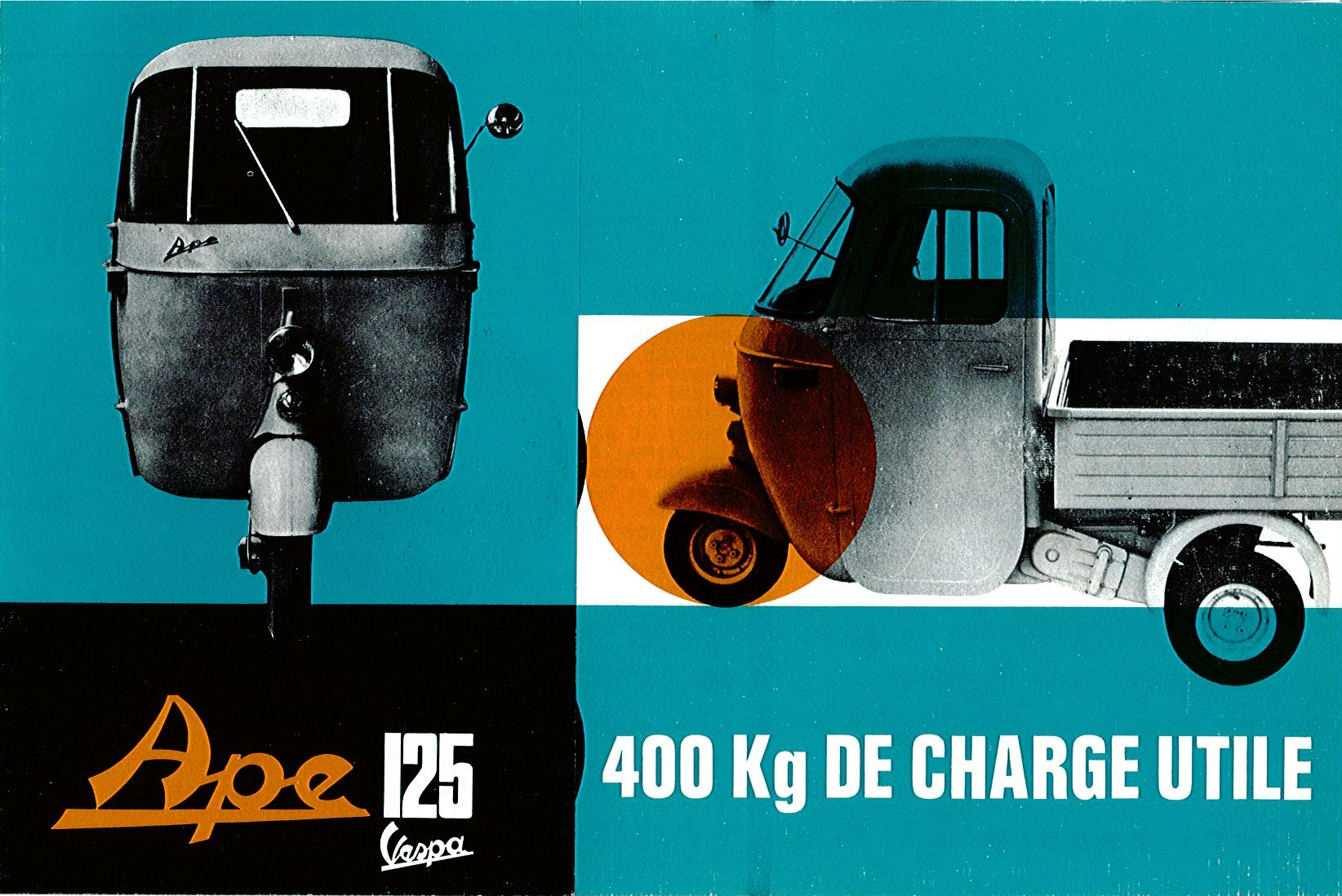 Piaggio Ape EO 125 France