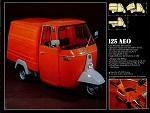 Piaggio Ape P350, 125 cc