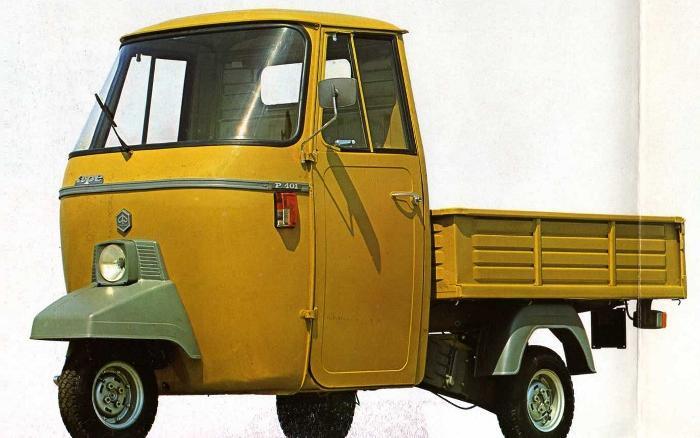Piaggio Ape P401, 175 cc, AE3T