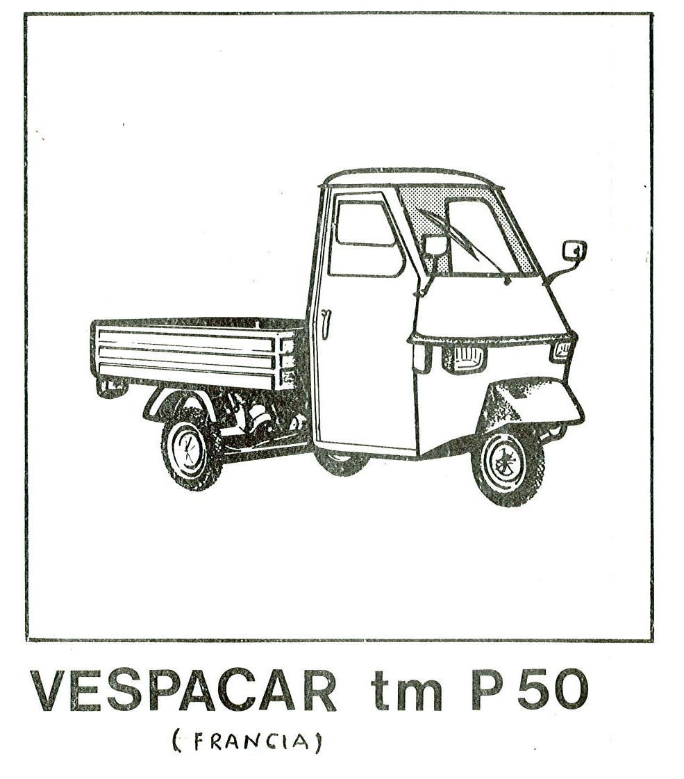 Piaggio Ape TM P50 TL5T