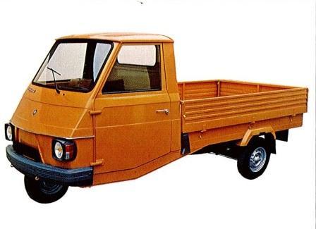Piaggio Ape Car P2, Vespacar P2
