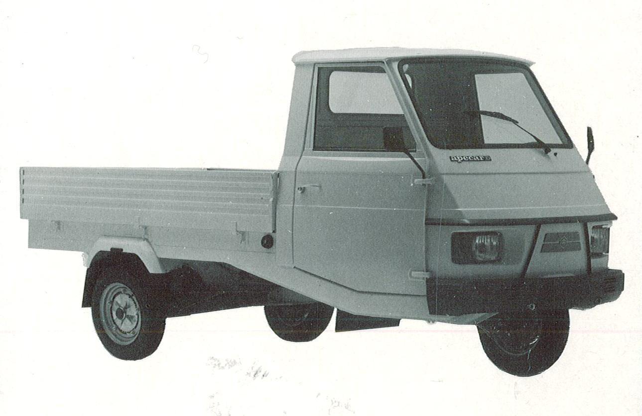 Piaggio Apecar Diesel AFD1T