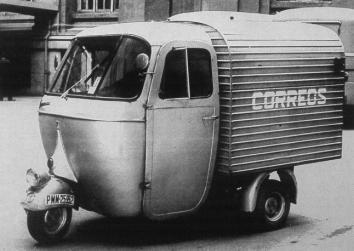 Vespacar 150 cc Espagne