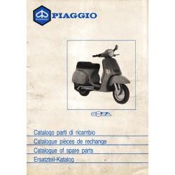 Catalogo delle parti di ricambio Scooter Vespa COSA 1988 / 1991