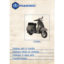 Catalogue of Spare Parts Scooter Vespa COSA 1988 / 1991