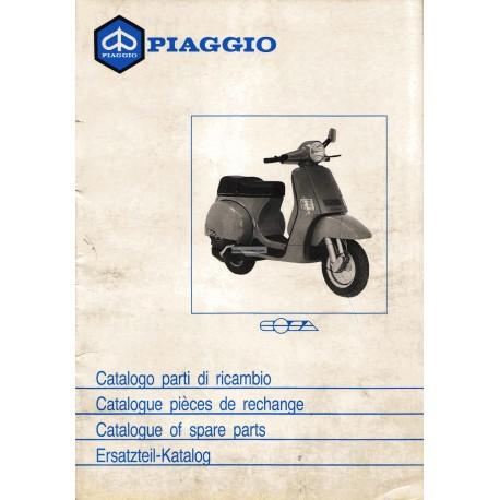 Catalogue of Spare Parts Scooter Vespa COSA 1988 / 1991
