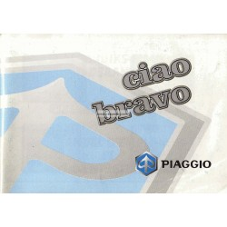 Operation and Maintenance Piaggio Ciao MIX, Piaggio Bravo, 1998