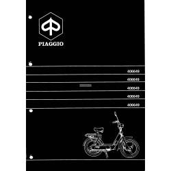 Catalogo delle parti di ricambio Piaggio Ciao MIX mod. ZAPC, 1995