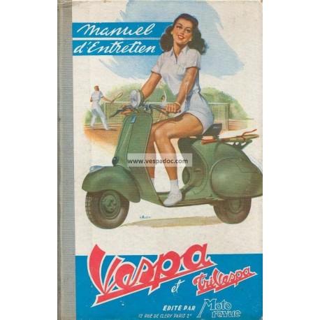 vespa acma 1954 manuel