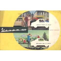 Publicité pour Vespa 400 Modèle 1960