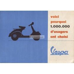 Publicité pour Scooter Acma 1956 + Acma 150 GL
