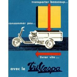 Publicité, Livret pour TriVespa Acma 125