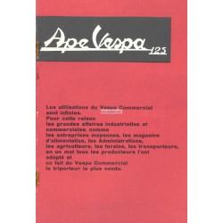 Publicité pour Piaggio Ape EO, 125cc