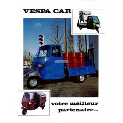 Advertising for Piaggio Ape 50, Ape P400 MPF, Ape P2, Ciao Porter