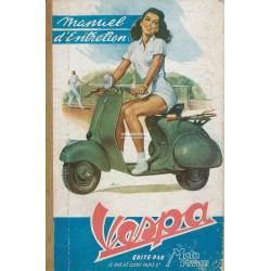 Manuale per Stazioni di Servizio Votre Vespa Acma 1952