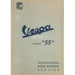 Manuale per Stazioni di Servizio Scooter Acma 125 Mod. 1955