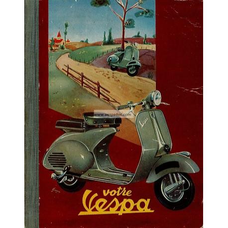 Workshop Manual Vespa Acma 1954