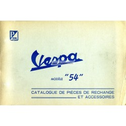 Catalogue of Spare Parts Scooter Acma 1954