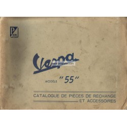 Catalogue of Spare Parts Scooter Acma 1955, 1956, 1957, 1958