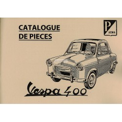 Catalogue of Spare Parts Vespa 400