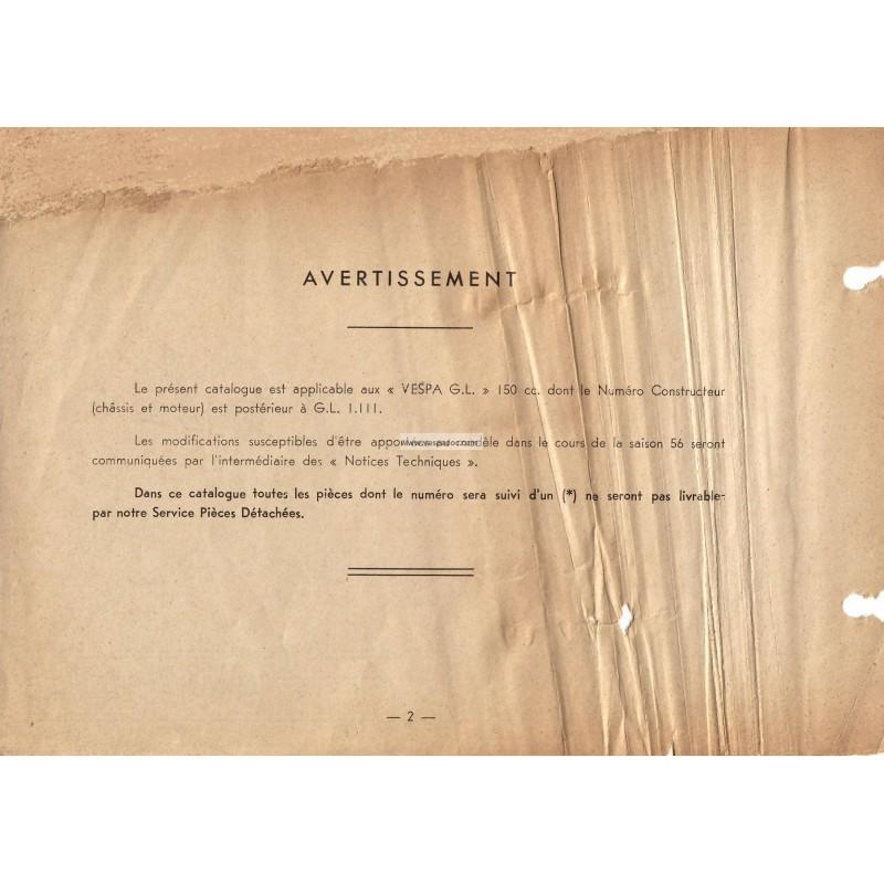 Catalogo de piezas de repuesto scooter acma 150 gl vespadoc for Piezas de fontaneria catalogo