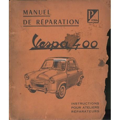 Workshop Manual Vespa 400