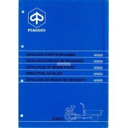 Catalogo de piezas de repuesto Piaggio Ciao Porter 3 CT31T