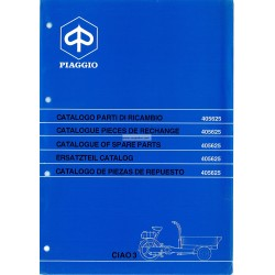 Catalogue of Spare Parts Piaggio Ciao Porter 3 CT31T