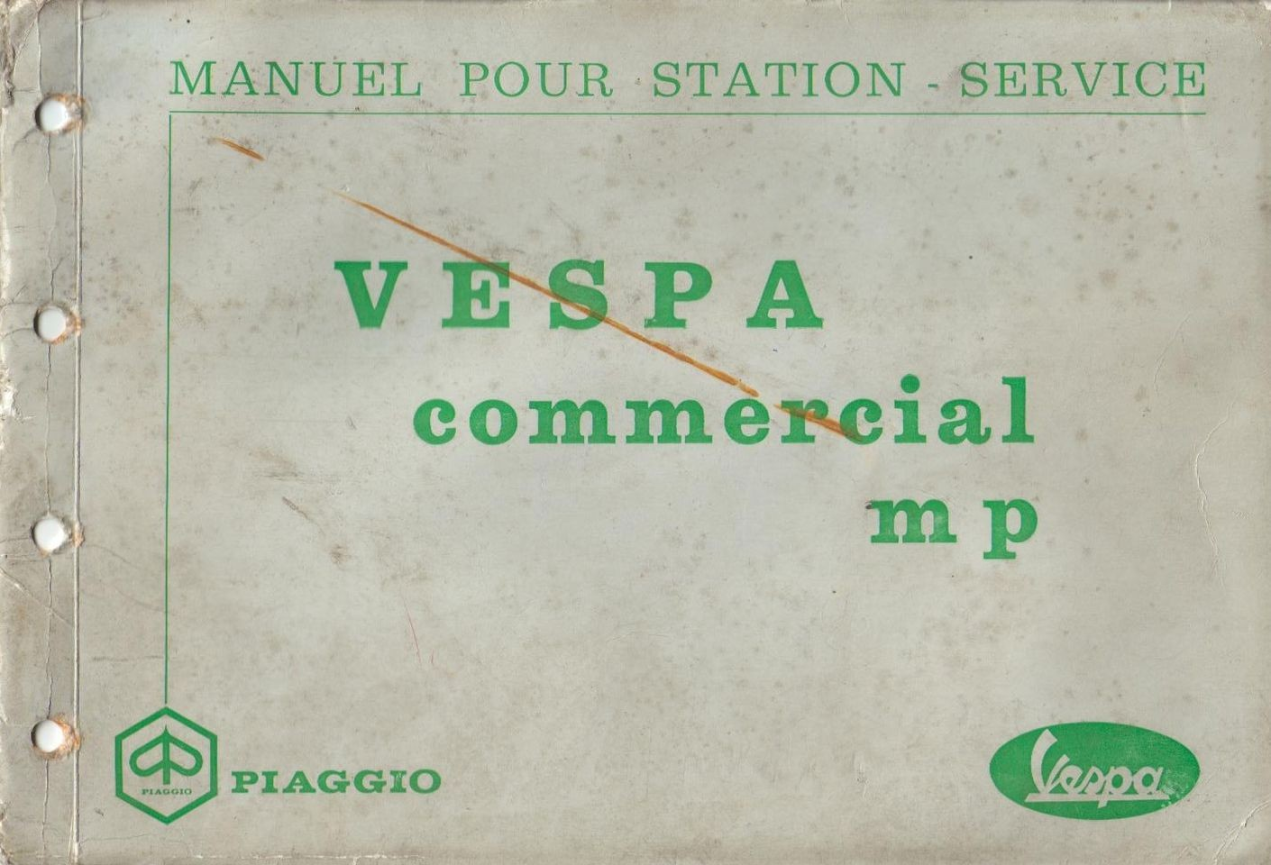 piaggio ape p601 et p601v vespadoc rh vespadoc com Piaggio Ape Truk Piaggio Ape Calessino