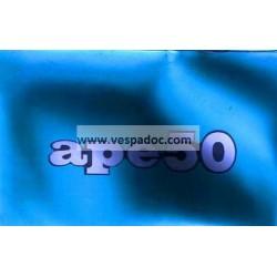 Notice Piaggio Ape 50 Europa mod. TL5T, italien