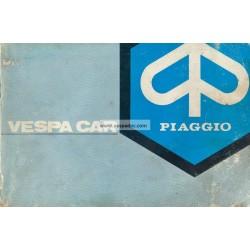 Notice d'emploi Piaggio Ape P2 mod. AF1T