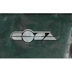 Bedienungsanleitung Vespa Cosa 125 VNR2T, Cosa 150 VLR2T, Cosa 200 VSR1T