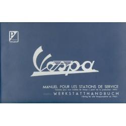 Werkstatthandbuch Scooter Vespa 1955 - 1963