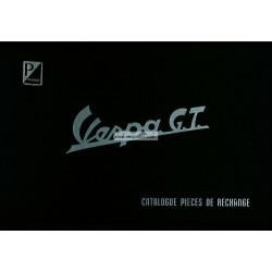 Catalogo delle parti di ricambio Scooter Vespa 125 GT mod. VNT2T