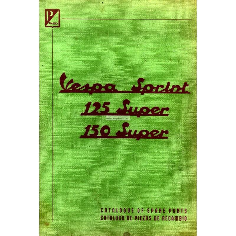 Catalogo de piezas de repuesto scooter vespa 150 sprint for Piezas de fontaneria catalogo